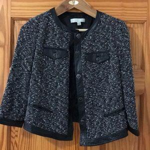 EUC Black and White Blazer Jacket
